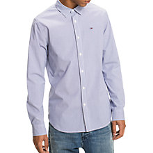 Buy Tommy Jeans Basic Long Sleeve Stripe Shirt Online at johnlewis.com