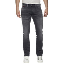 Buy Tommy Jeans Slim Scanton Jeans, Oak Grey Comfort Online at johnlewis.com