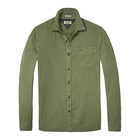 Buy Tommy Jeans Denim Long Sleeve Shirt, Thyme Online at johnlewis.com