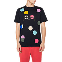 Buy PS Paul Smith Spot And Specs T-Shirt, Navy Online at johnlewis.com