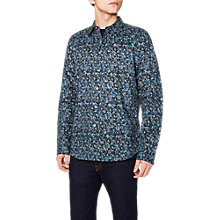 Buy PS Paul Smith Camo Long Sleeve Shirt, Blue Camo Online at johnlewis.com