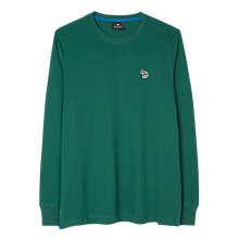 Buy PS by Paul Smith Mini Zebra Long Sleeve Logo T-Shirt, Green Online at johnlewis.com