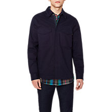 Buy PS by Paul Smith Cotton Shirt Jacket, Navy Online at johnlewis.com