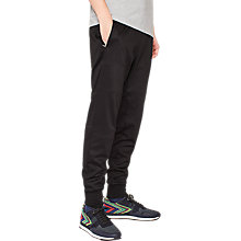 Buy PS by Paul Smith Cotton Blend Panelled Joggers, Black Online at johnlewis.com