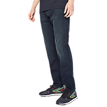 Buy PS Paul Smith Super Soft Cross Hatch Tapered Jeans, Navy Wash Online at johnlewis.com