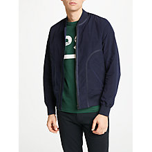 Buy PS by Paul Smith Ripstop Bomber Jacket, Navy Online at johnlewis.com