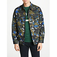 Buy PS by Paul Smith Camouflage Shirt Jacket, Khaki Online at johnlewis.com