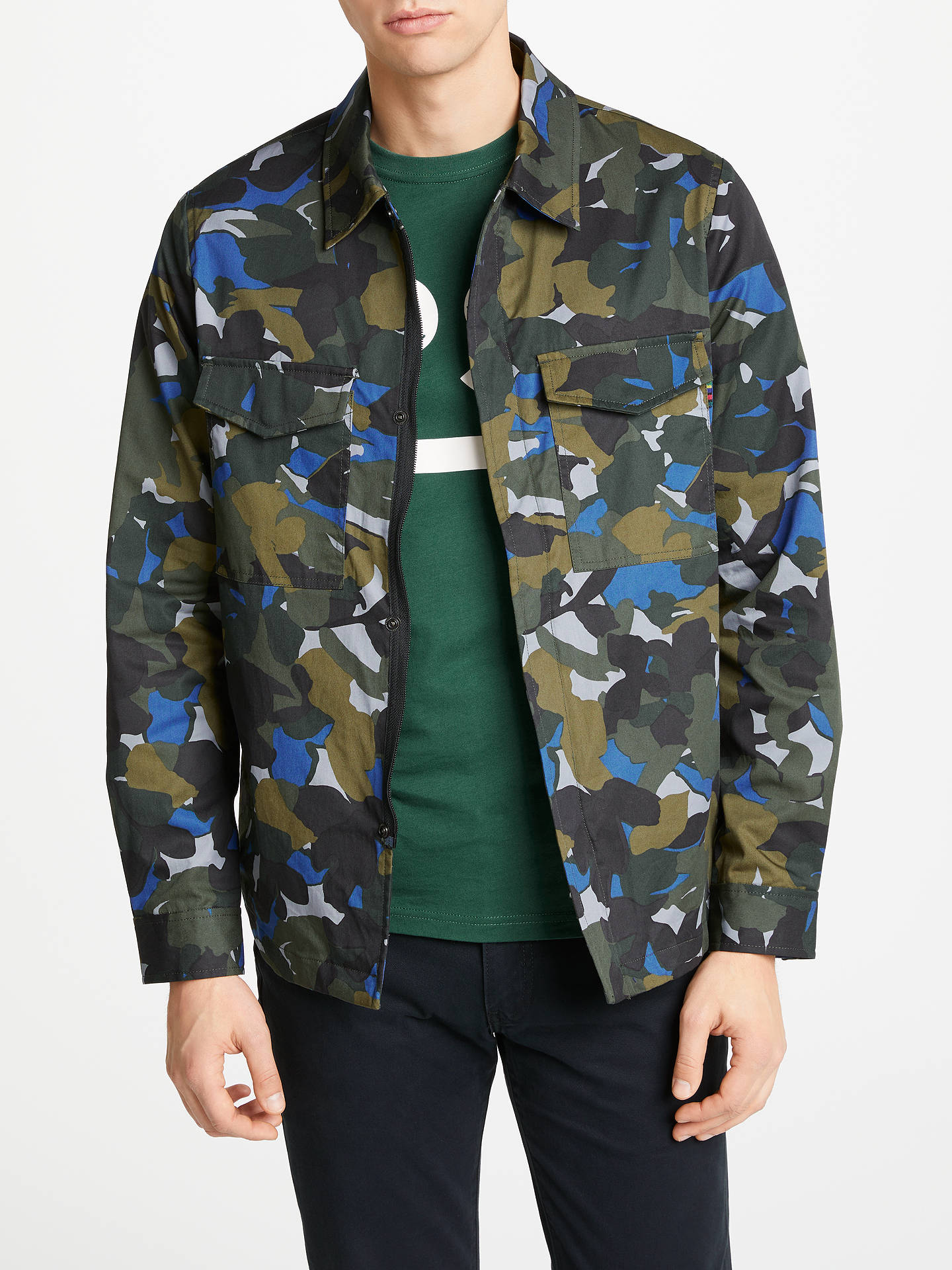2910fa187bb0e Buy PS Paul Smith Camouflage Shirt Jacket