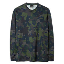 Buy PS by Paul Smith Camo Print Long Sleeve T-Shirt, Dark Navy Online at johnlewis.com