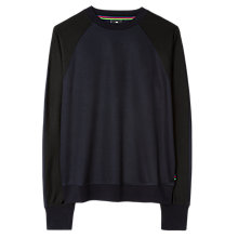 Buy PS by Paul Smith Raglan Sleeve Sweatshirt, Black Online at johnlewis.com