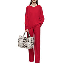Buy Reiss Albany Cashmere Crew Jumper Online at johnlewis.com