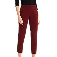 Buy Jaeger Cigarette Trousers, Bordeaux Online at johnlewis.com
