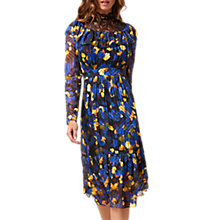 Buy L.K. Bennett X Preen Reed Silk Blend Dress, Multi Online at johnlewis.com