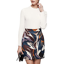 Buy Reiss Lina Plisse Top Online at johnlewis.com