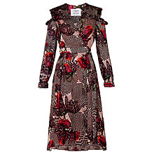 Buy L.K. Bennett X Preen Sioux Tulip Print Dress, Multi Online at johnlewis.com