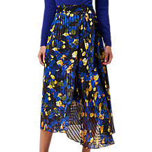 Buy L.K. Bennett X Preen Reed Silk Blend Skirt, Multi Online at johnlewis.com