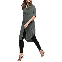 Buy Reiss Zoey Shirt Dress, Juniper Online at johnlewis.com