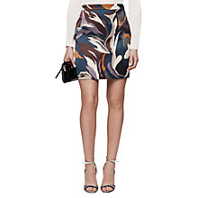 Buy Reiss Verona Mini Skirt, Multi Online at johnlewis.com