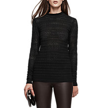 Buy Reiss Tullulah Long Sleeve Lace Top Online at johnlewis.com