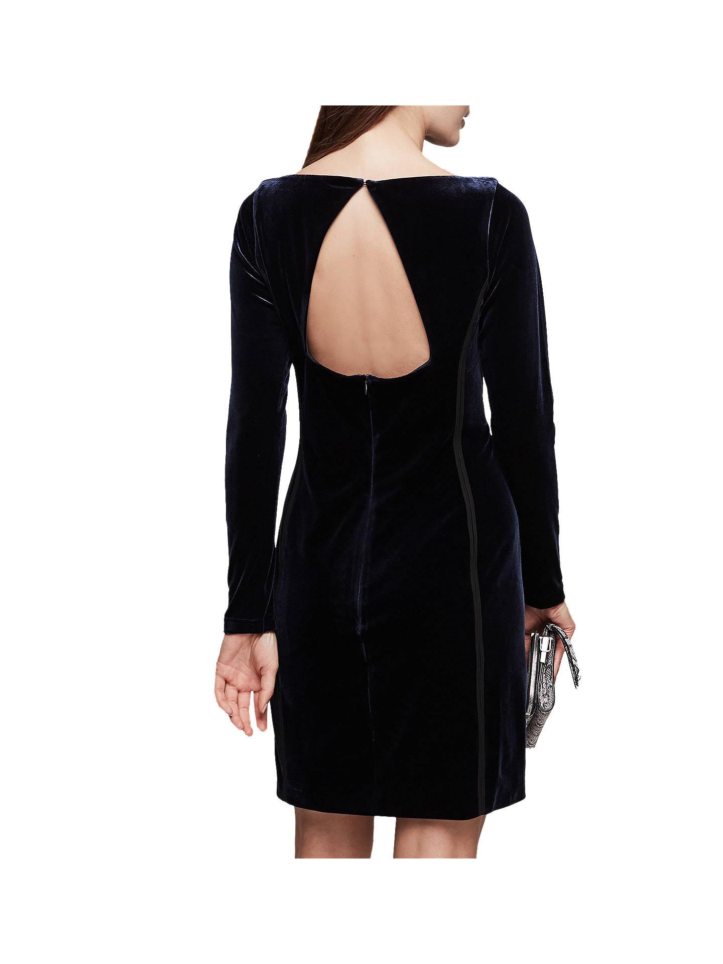 911fd3249f1 ... Buy Reiss Xina Open Back Velvet Dress