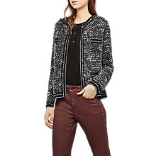 Buy Gerard Darel Structured Cardigan Blazer, Grey Online at johnlewis.com