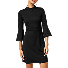 Buy Warehouse High Neck Ponte Dress Online at johnlewis.com