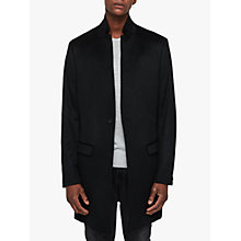 Buy AllSaints Bodell Wool Tailored Coat, Black Online at johnlewis.com