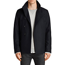 Buy AllSaints Melrose Peacoat, Ink Navy Online at johnlewis.com