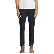 Buy AllSaints Park Lightweight Chinos, Airforce Blue Online at johnlewis.com