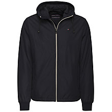 Buy Tommy Hilfiger Zake Hooded Jacket, Sky Captain Online at johnlewis.com