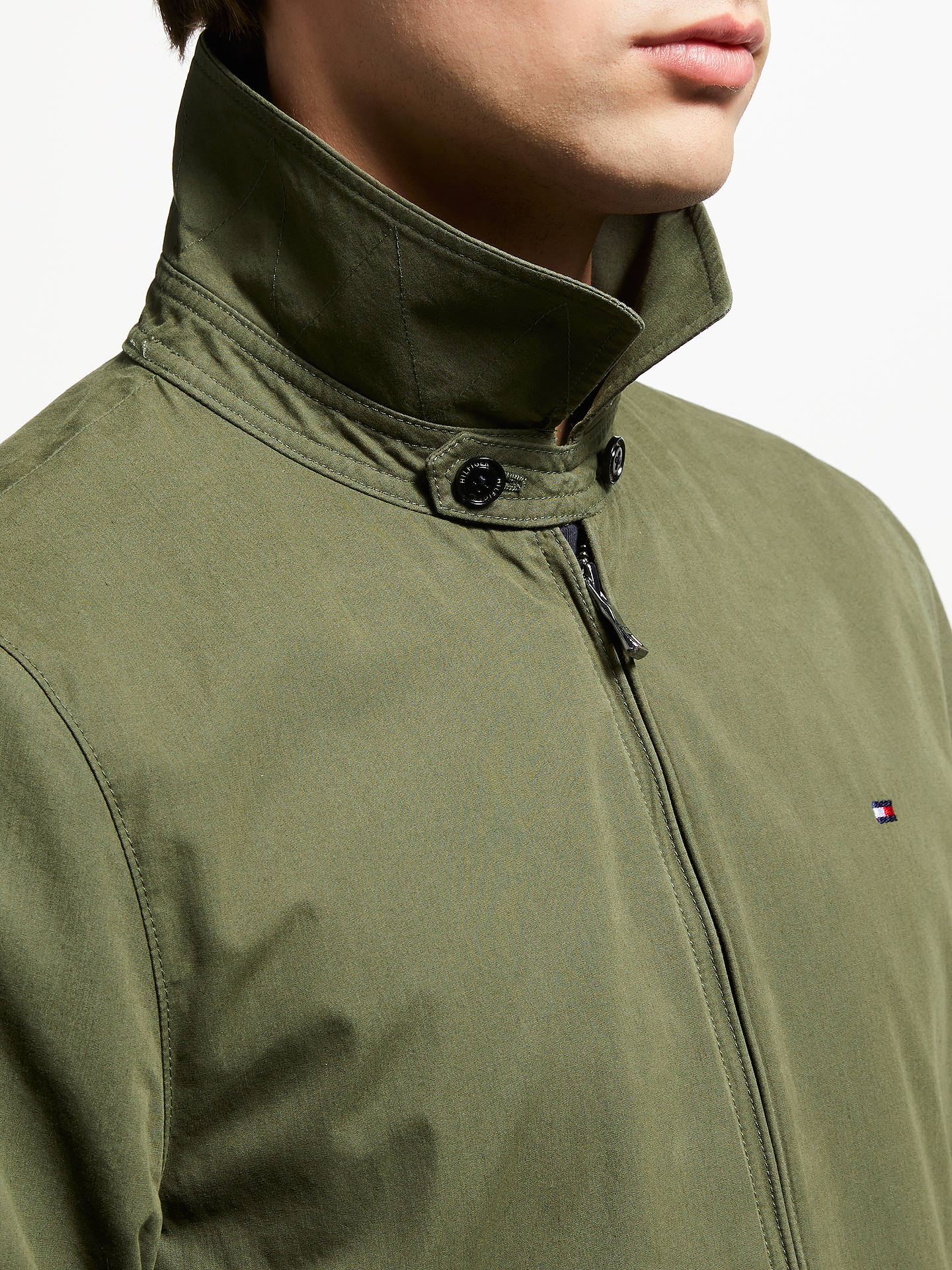 4bf9dfefcae Tommy Hilfiger New Ivy Cotton Jacket at John Lewis   Partners