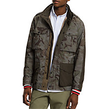 Buy Tommy Hilfiger Camo Jacket, Green Online at johnlewis.com