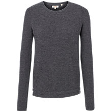 Buy Fat Face Sophie Knit Mix Jumper, Phantom Online at johnlewis.com