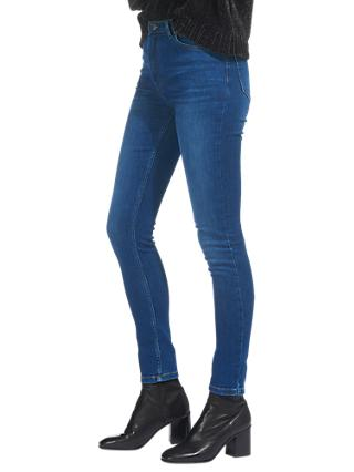 Whistles Skinny Jeans, Denim Blue