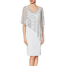 Buy Gina Bacconi Joanna Asymmetric Cape Dress Online at johnlewis.com