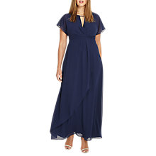 Buy Studio 8 Destiny Maxi Dress, Navy Online at johnlewis.com