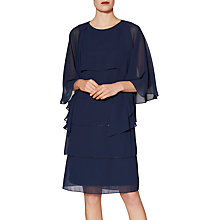 Buy Gina Bacconi Daisy Tiered Dress With Shawl Online at johnlewis.com