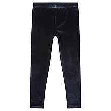 Buy Jigsaw Girls' Velvet Stretch Leggings Online at johnlewis.com