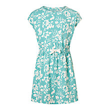 Buy John Lewis Girls' Leaf Print Jersey Dress Online at johnlewis.com