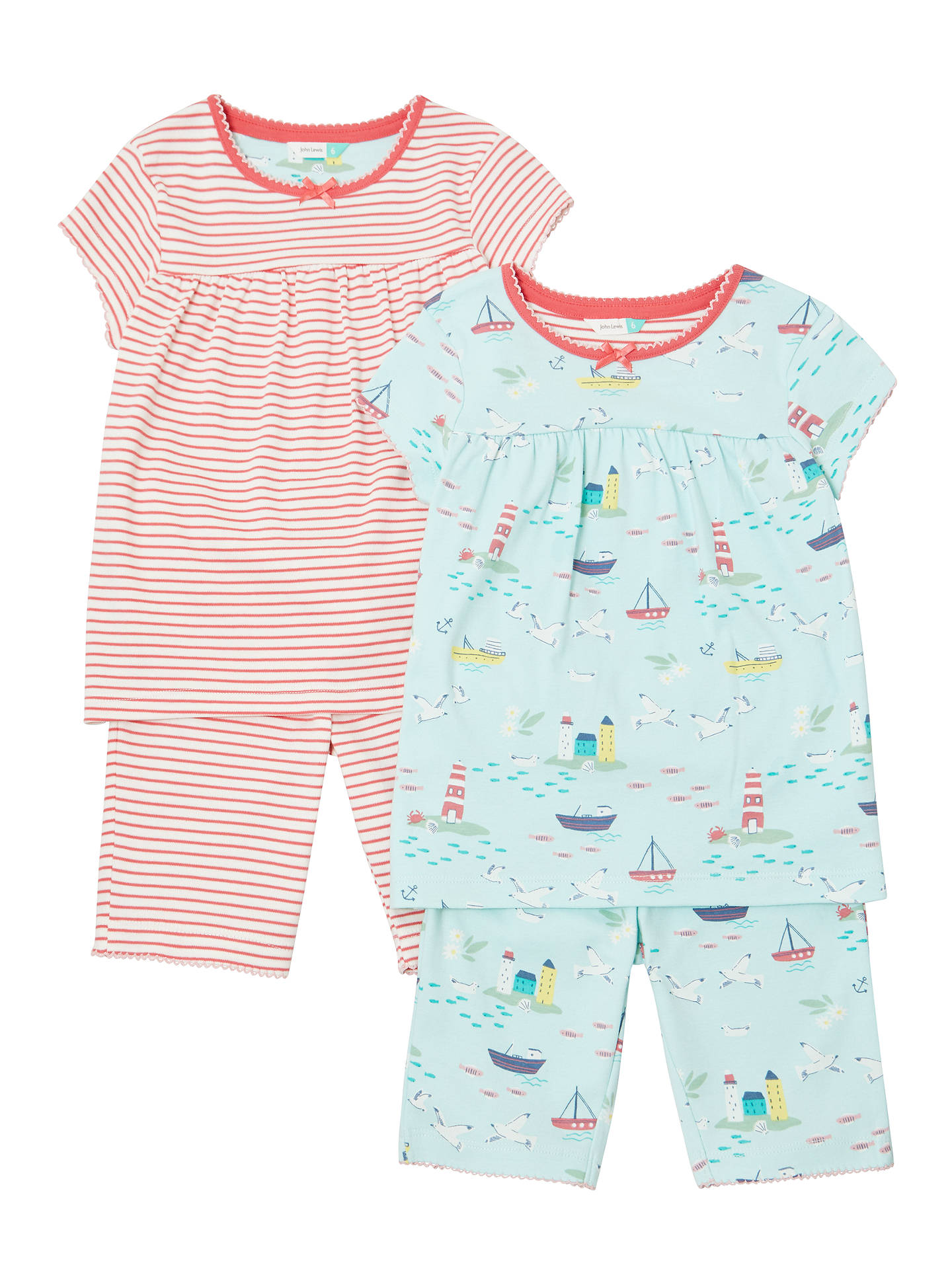 349ce5e62723 John Lewis   Partners Girls  Seaside Pyjamas