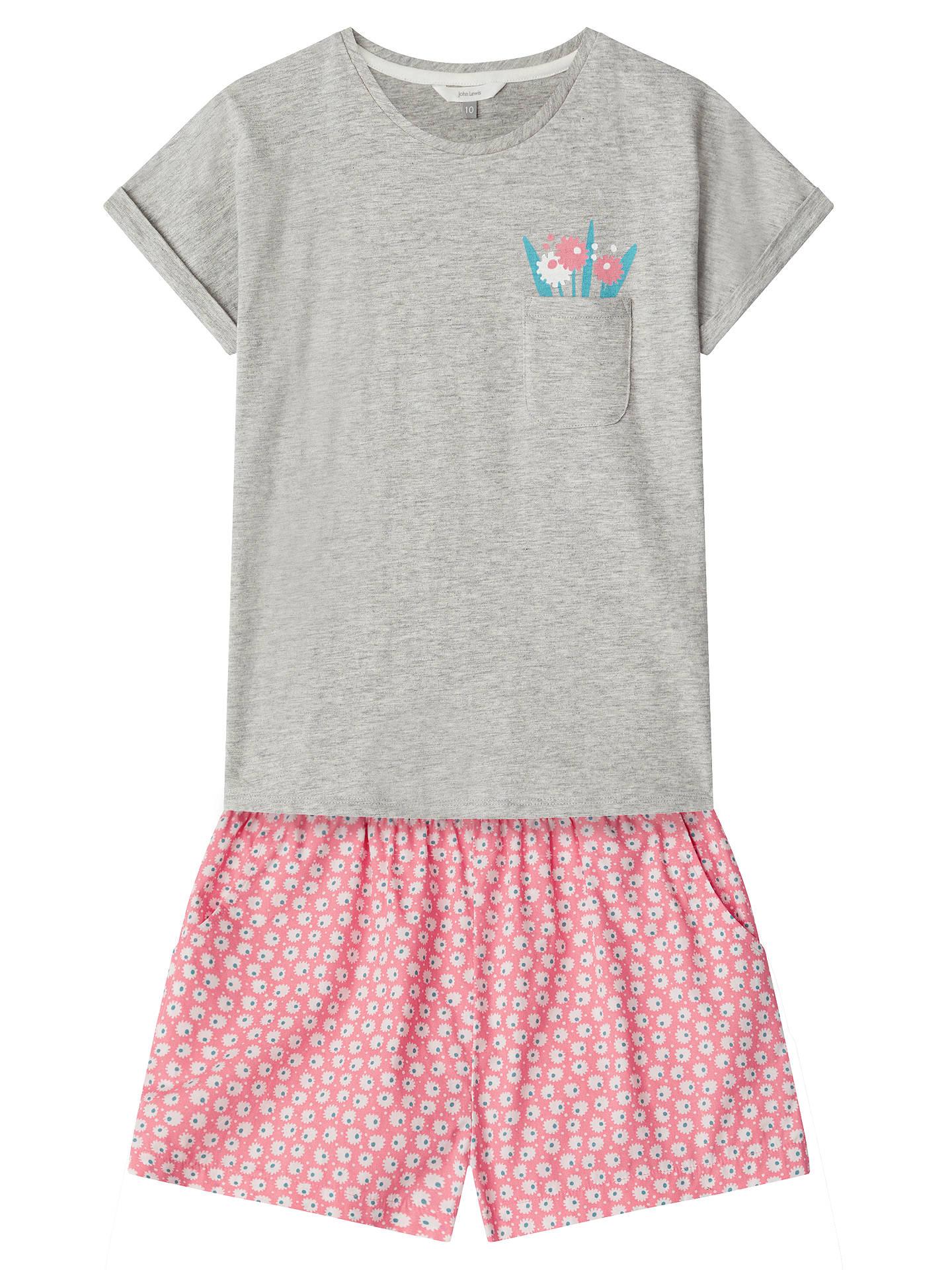 BuyJohn Lewis Girls  Snooze Club Short Pyjamas e79f402bf