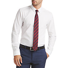 Buy HUGO by Hugo Boss Ebow Extra Slim Fit Shirt, White Online at johnlewis.com