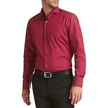Buy HUGO by Hugo Boss Cepic Regular Fit Shirt, Dark Red Online at johnlewis.com