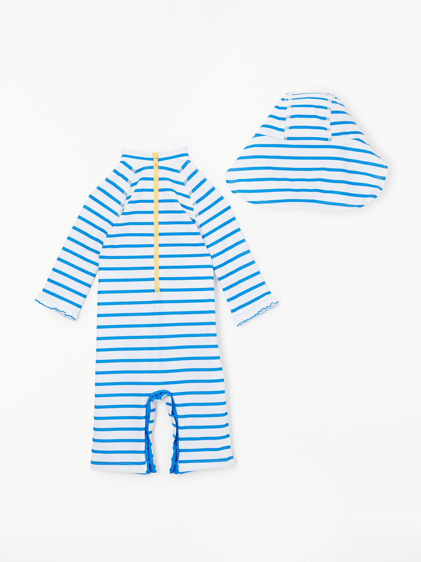 ... BuyJohn Lewis   Partners Baby Mermaid UV SunPro Swimsuit and Hat cb9fb920597f