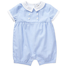 Buy John Lewis Baby Heirloom Collection Stripe Romper 35f003a8d62c