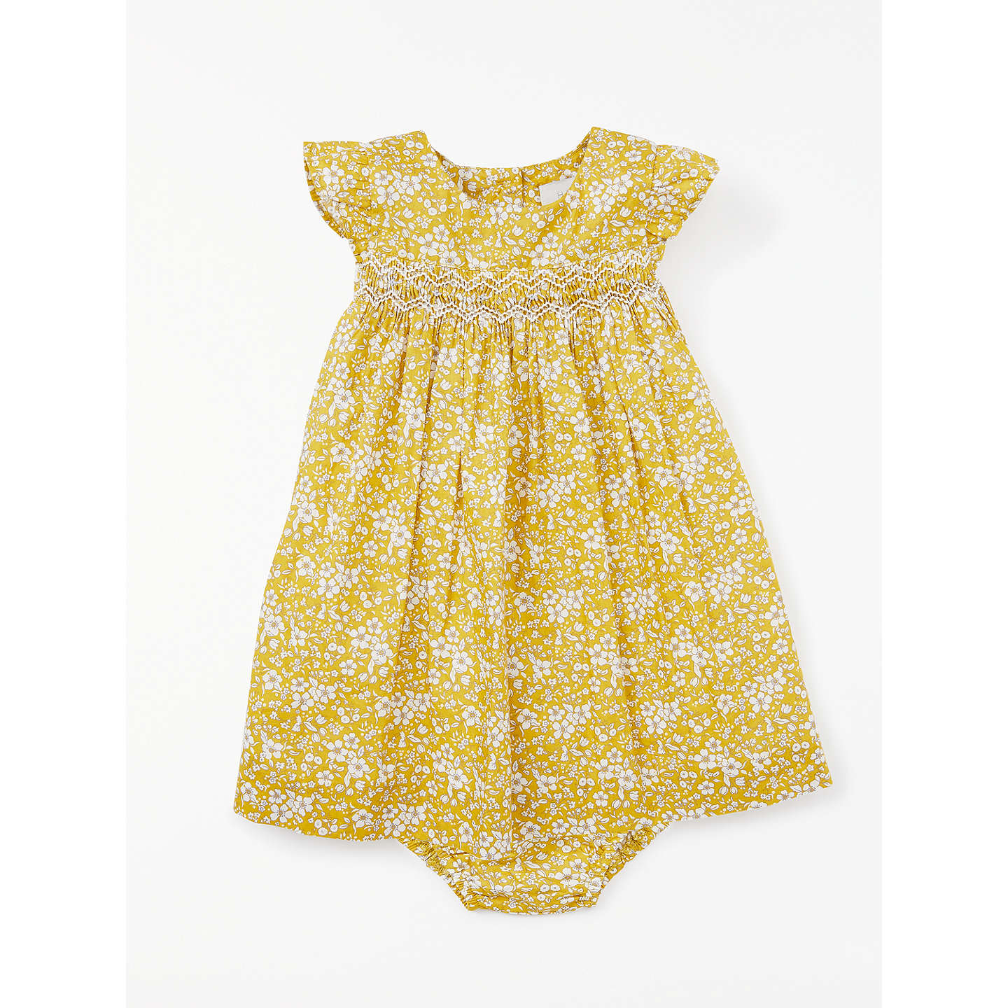 Ruby Wedding Gifts John Lewis: John Lewis Heirloom Collection Baby Floral Ruby Dress At