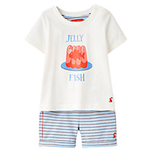 Buy Baby Joule Barnacle Jelly Fish Top & Shorts Set, Blue Online at johnlewis.com