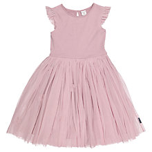 Buy Polarn O. Pyret Children's Tulle Dress, Purple Online at johnlewis.com