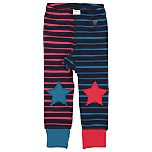 Buy Polarn O. Pyret Baby Stripe Leggings, Blue Online at johnlewis.com