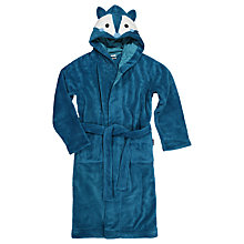 Buy Polarn O. Pyret Children's Cosy Robe, Blue Online at johnlewis.com